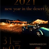 Le Mille Maroc Classic Rally Happy New Year